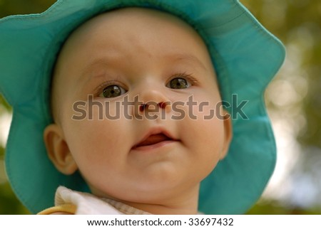94d23384b Baby Girl Wearing Pink Jumper Outfit Stock Photo (Edit Now) 33697432 ...
