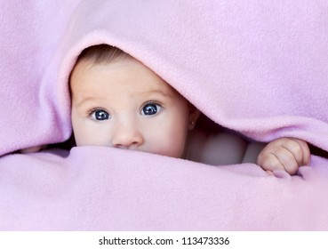 Baby Wrapped In Blanket Images Stock Photos Vectors Shutterstock