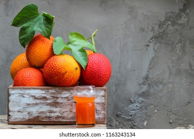Baby Jackfruit and juice