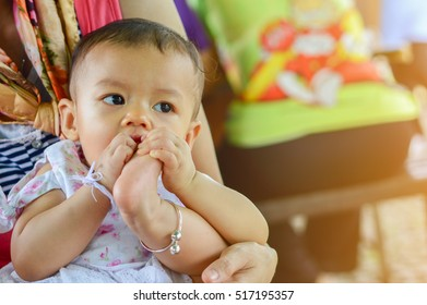 Baby are learning, be curious, Development of baby