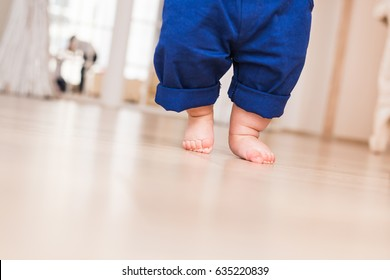 Baby legs. First steps.