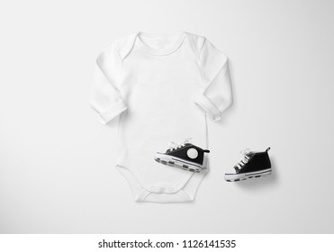 Baby Longsleeve Onesie Mockup Set, LITTLE FASHION SERIES