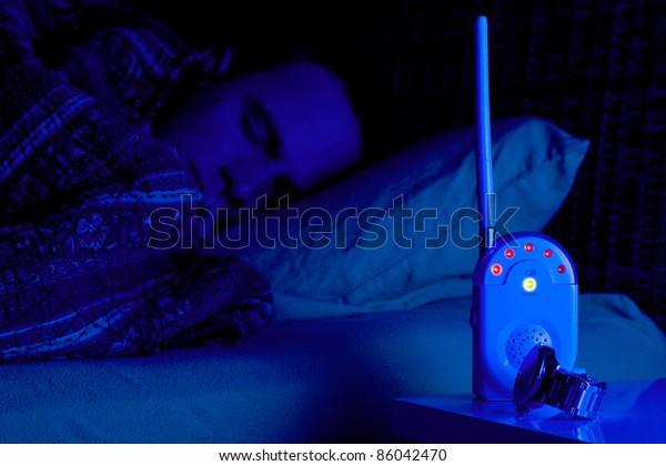 Baby monitor alarm