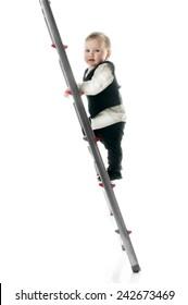 Baby on career ladder upwards