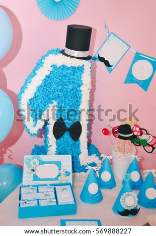 baby party making childrens party invitations stock photo edit now