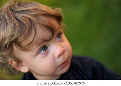 Baby Portrait close-up