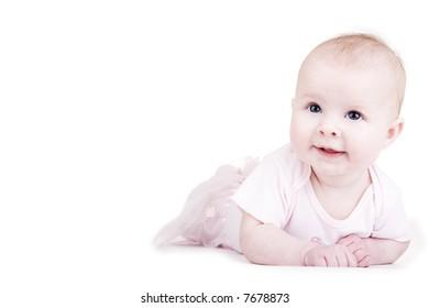 Baby portraits, isn't she cute?
