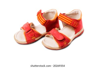 Baby Red Shoes (Sandals)