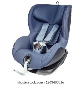 Baby Safety Car Seat isolated on white