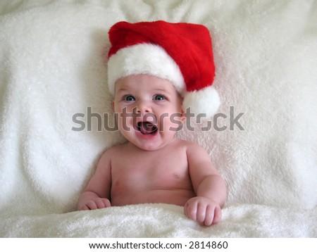 Baby Santa Hat On Stock Photo (Edit Now) 2814860 - Shutterstock f2f254dd3fa