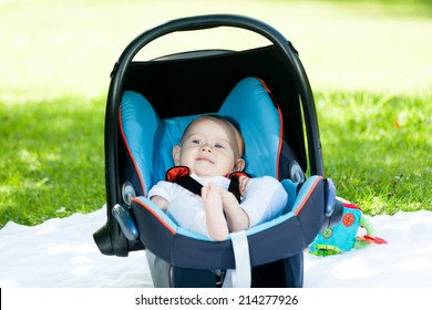baby in baby seat