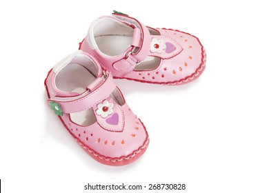 b6e96522accb pink baby girl background Stock Photos