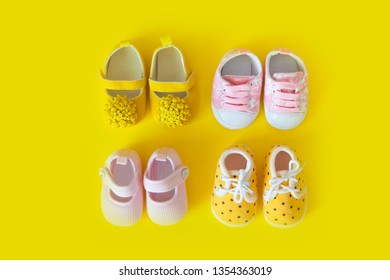 Baby shoes for baby baby postcard