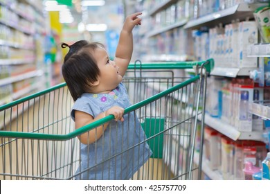 Baby Shopping in Department store