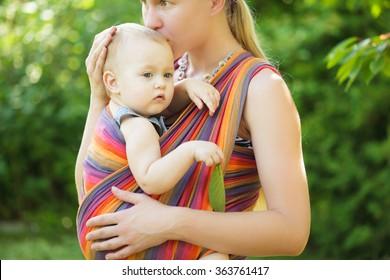 Baby in sling