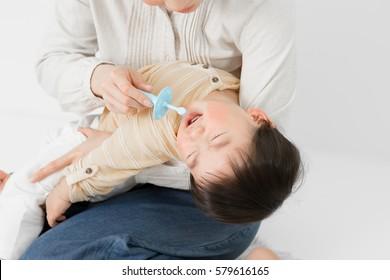 Baby, tooth brush, toothbrush, dislike