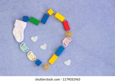 baby toys and pacifier