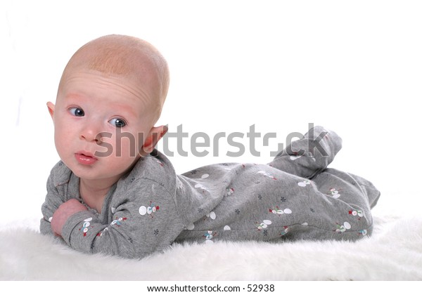 Baby in Winter Outfit