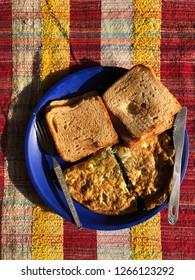Bachelors Bread & Omelette Breakfast