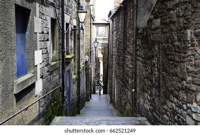 Back Alley of Edinburgh - June 2017 - Edinburgh, Scotland