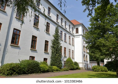 Back of the Aurich castle, Germany