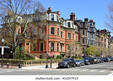 Back Bay Brownstones, Boston