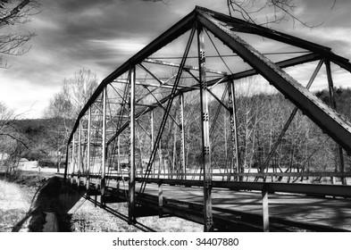 Back country bridge in Falling Springs Virginia
