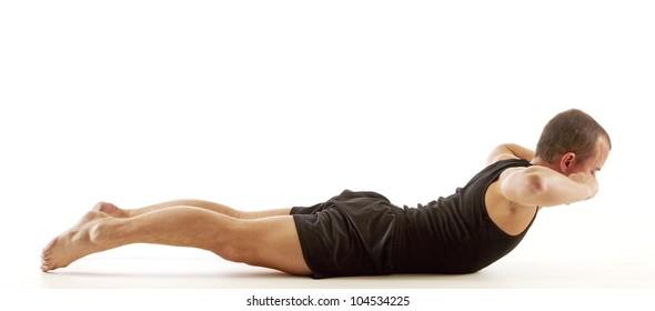 Back Crunch Exercise