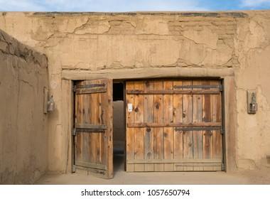 Back Gate at Bent's Old Fort National Historic Site, Colorado