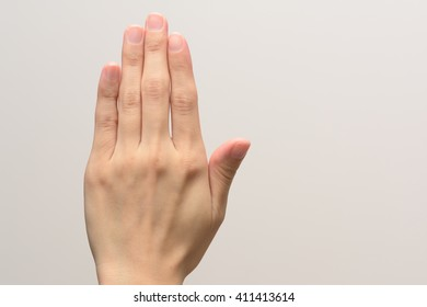 Back of the hand