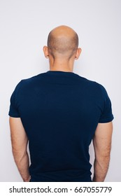 the back of the head the bald man