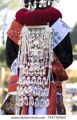 c3143d9f0b Back Hill Tribe Clothing Stock Photo (Edit Now) 734730460 - Shutterstock