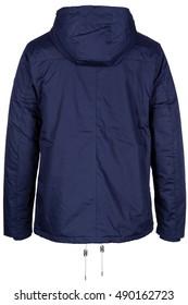 Back of jacket with hood