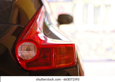 Back Light of a Car , Nissan Juke Car
