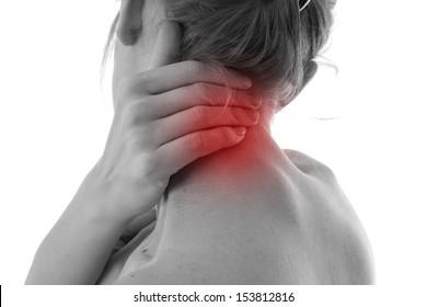 Back pain.Medical theme.Patient role