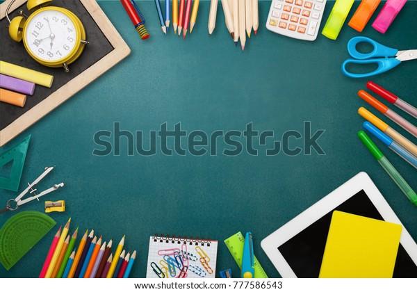 Back School Background Stock Photo (Edit Now) 777586543