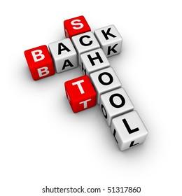 back to school (crossword series)