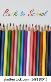 Back to school with some colored pencils