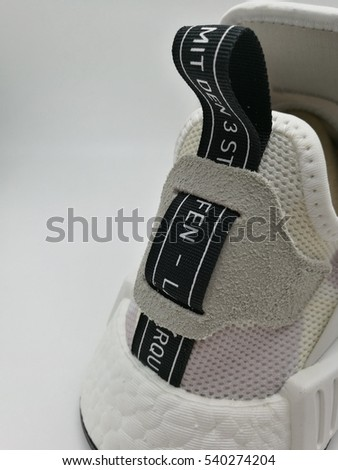 b63b17996bdef The back side of adidas nmd xr1 camo white color. Launched in Bangkok  Thailand on Black friday Nov 25th