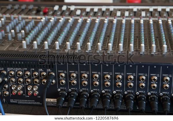 Back Soundboard Party Stock Photo (Edit Now) 1220587696
