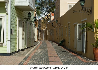 Back Street in Curacao