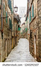 Back street in a italian city