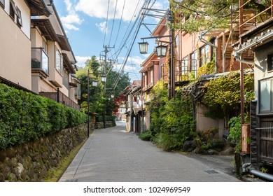 Back street of Shuzenji