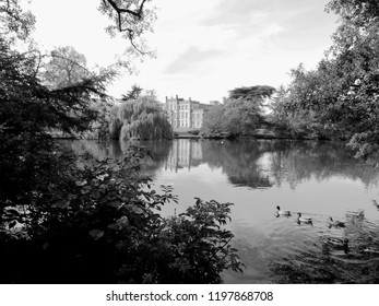 Back In Time - An English Scene in Black and White