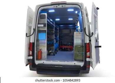 Commercial Van Interiors >> Imagenes Fotos De Stock Y Vectores Sobre Cargo Van