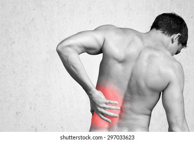 Backache, Pain, Back.