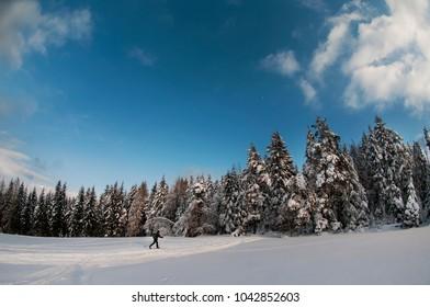 Backcountry ski, Poand, Low Beskids