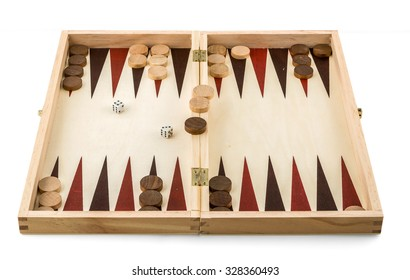 backgammon box set - wooden game toy