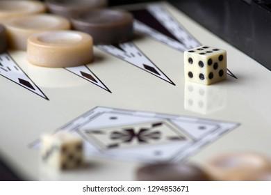Backgammon equipment backgammon dice