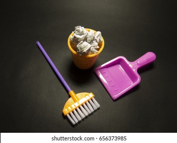 Background about cleaning in the office or kindergarten